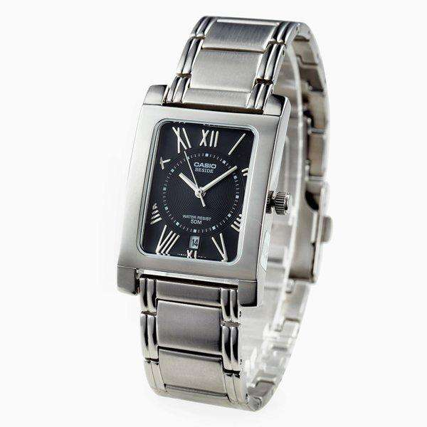 Casio BEM-100D-1A2VDF Silver Stainless Watch for Men and Women