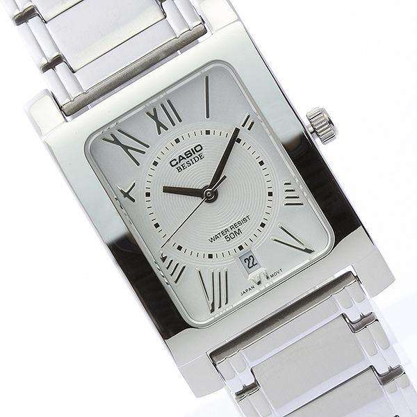 Casio BEM-100D-7A2VDF Silver Stainless Watch for Men and Women