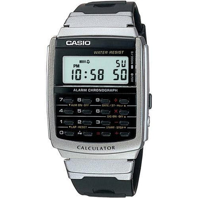 Casio CA-56-1D Black Calculator Watch for Men and Women - Watchportal Philippines