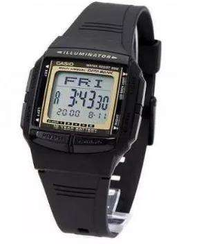 Casio DB-36-9A Black Watch For Men and Women