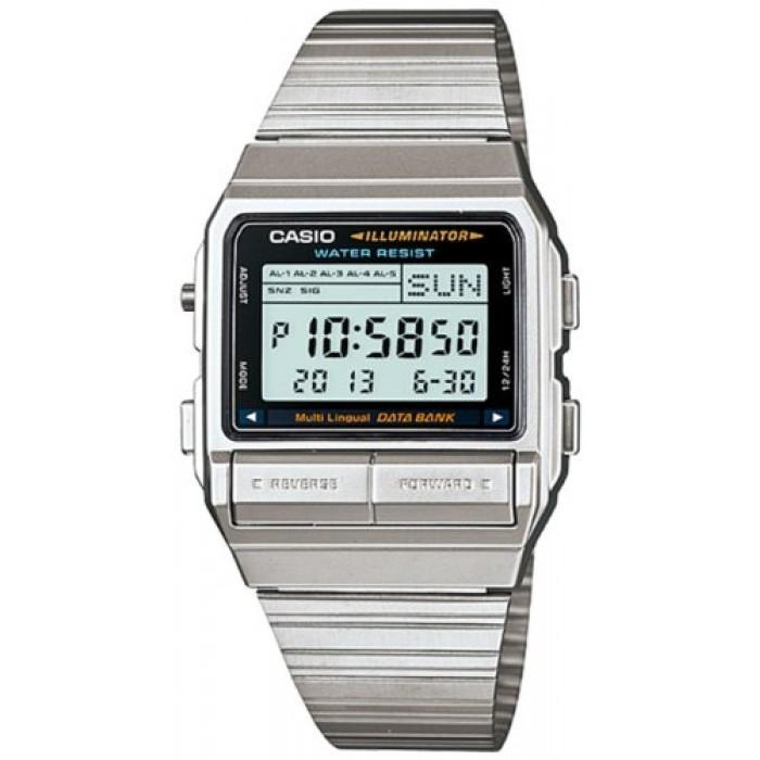 Casio Vintage DB-380-1D Silver Stainless Watch For Men and Women - Watchportal Philippines