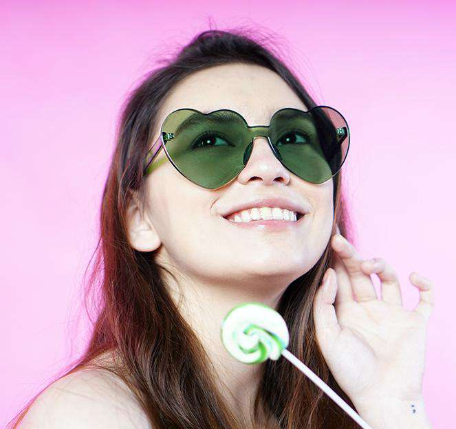 EyeMarie Havier-Green UV400 Protection Sunglass for Women