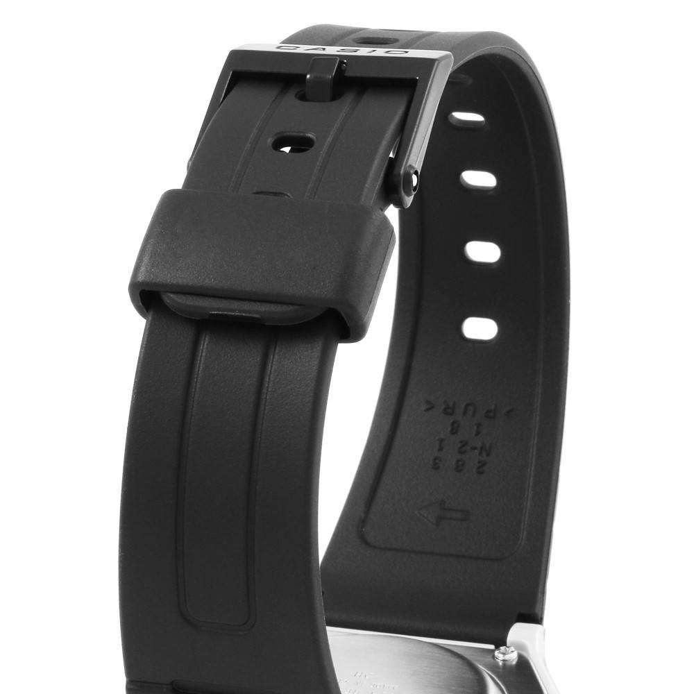 Casio F-91WM-2A Black Resin Strap Watch For Men and Women