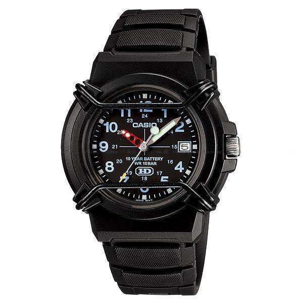Casio Standard Unisex Black Resin Strap Watch- HDA-600B-1BVDF (One Size)- For Men and Women - Watchportal Philippines