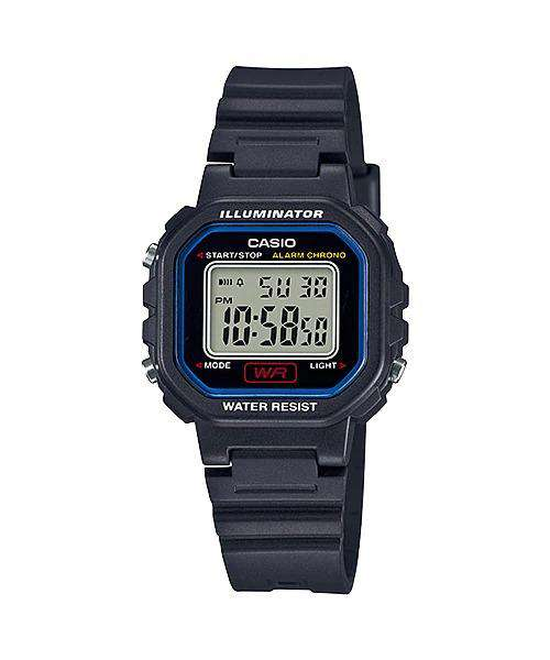 Casio LA-20WH-1CDF Navy Blue Resin Strap Watch for Women