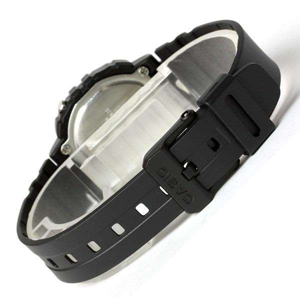 Casio LA-20WH-4ADF Black Resin Strap Watch for Women