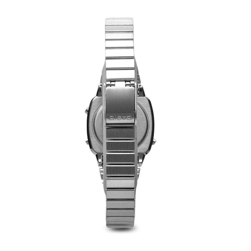 Casio LA670WA-1DF Silver Stainless Watch for Women