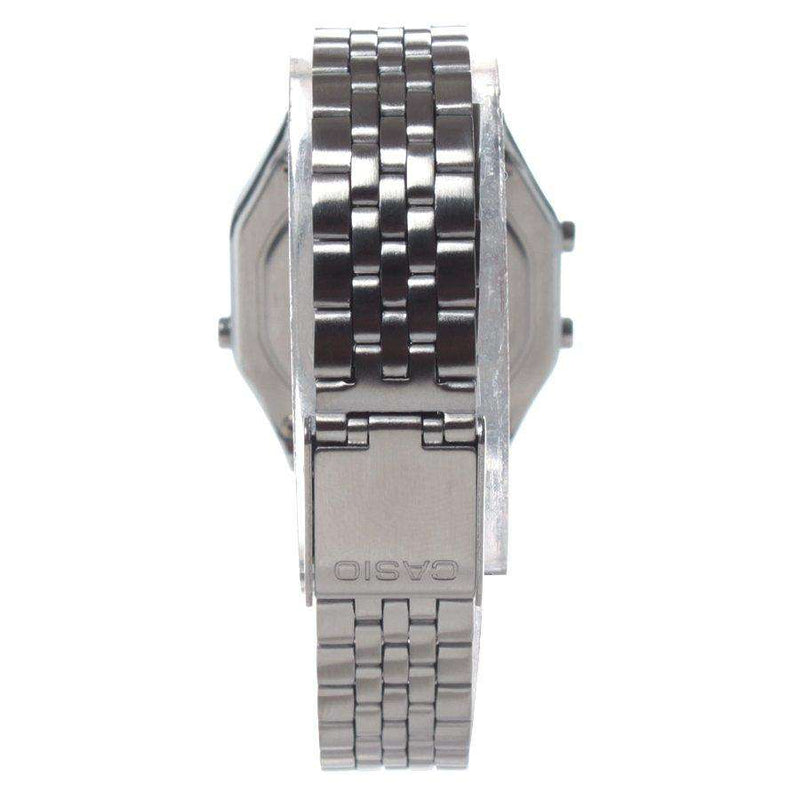 Casio LA680WA-1BDF Silver Stainless Watch for Women
