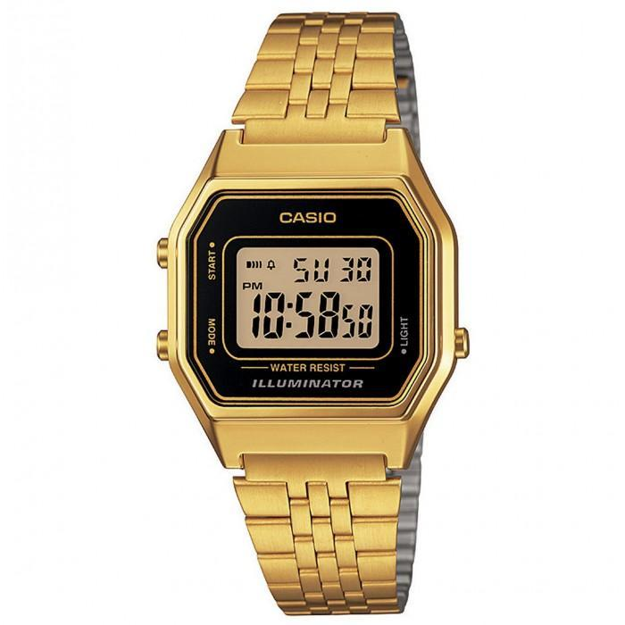 Casio Vintage LA680WGA-1D Gold Plated Watch For Women - Watchportal Philippines