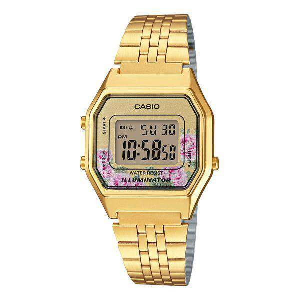 Casio LA680WGA-4CDF Gold Stainless Watch for Women