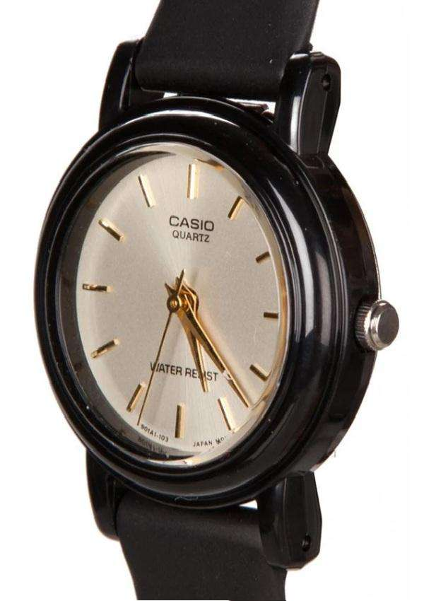 Casio LQ-139EMV-9ALDF Black Resin Watch for Women