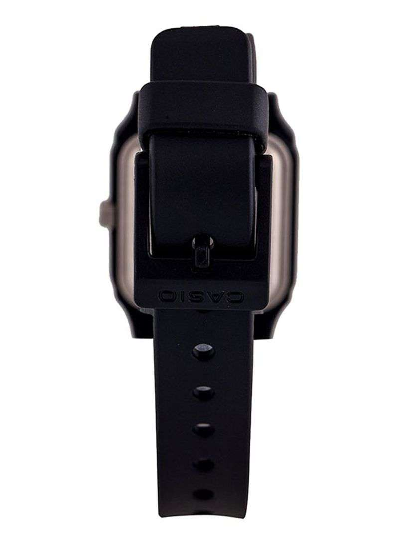 Casio LQ-142-1EDF Black Rubber Strap Watch for Women