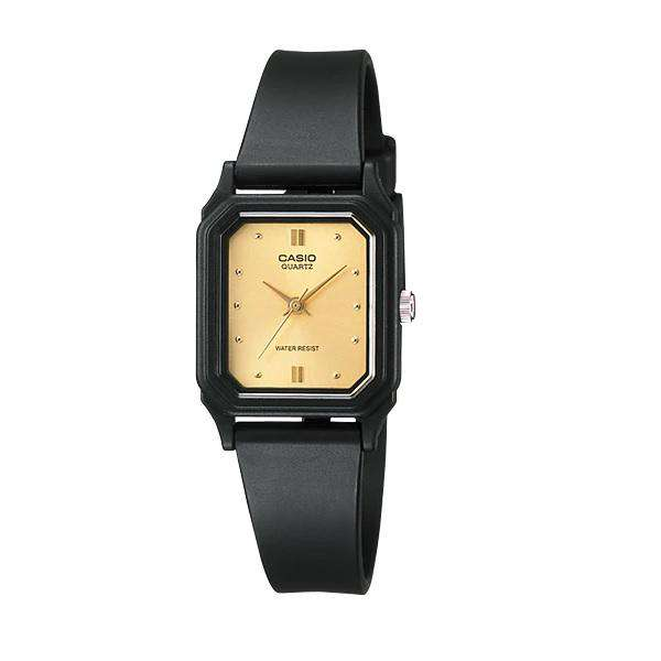 Casio LQ-142E-9ADF Black Resin Strap Watch for Women