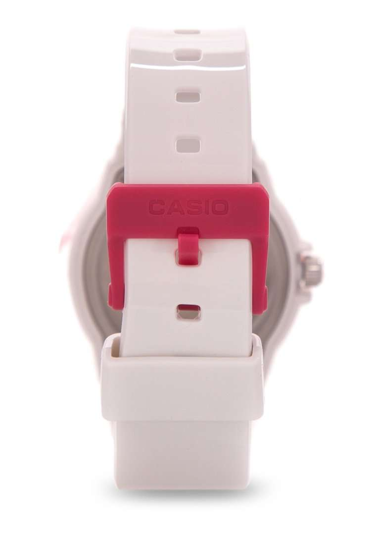 Casio LRW-200H-4B White Resin Strap Watch For Women
