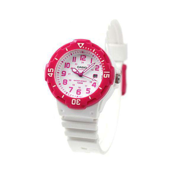 Casio LRW-200H-4B White Resin Strap Watch For Women - Watchportal Philippines
