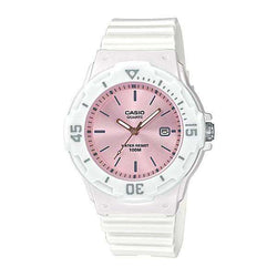 Casio LRW-200H-4E3VDF White Resin Watch for Women
