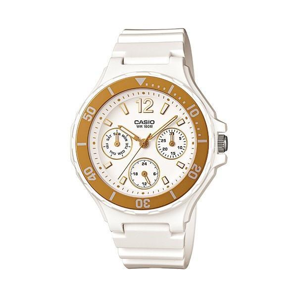 Casio LRW-250H-9A1 White Resin Strap Watch for Women - Watchportal Philippines