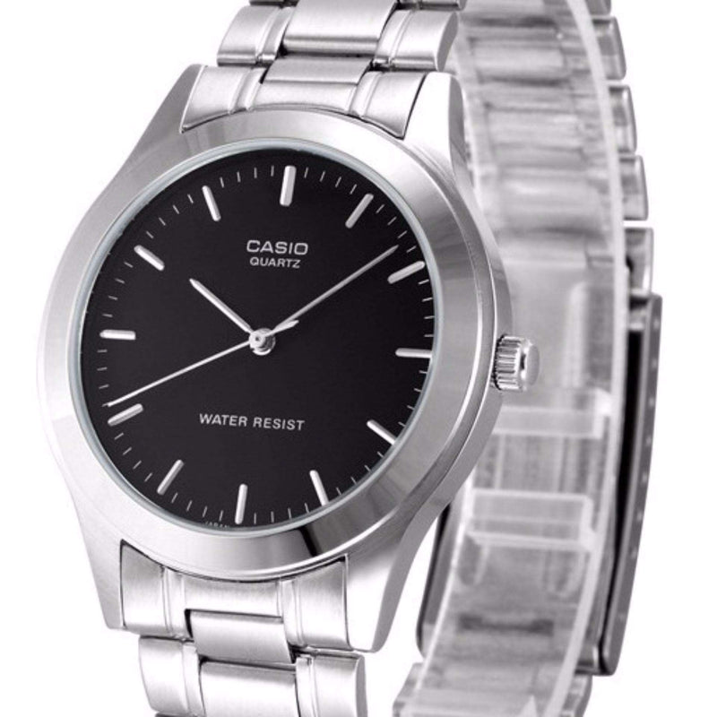 Casio Vintage LTP-1128A-1ARDF Silver Stainless Watch for Women