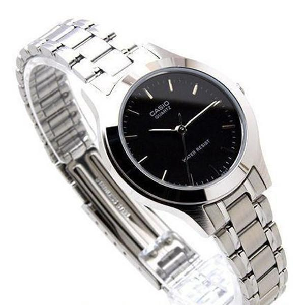 Casio Vintage Women's Silver Stainless Steel Strap Watch-  LTP-1128A-1ARDF - Watchportal Philippines