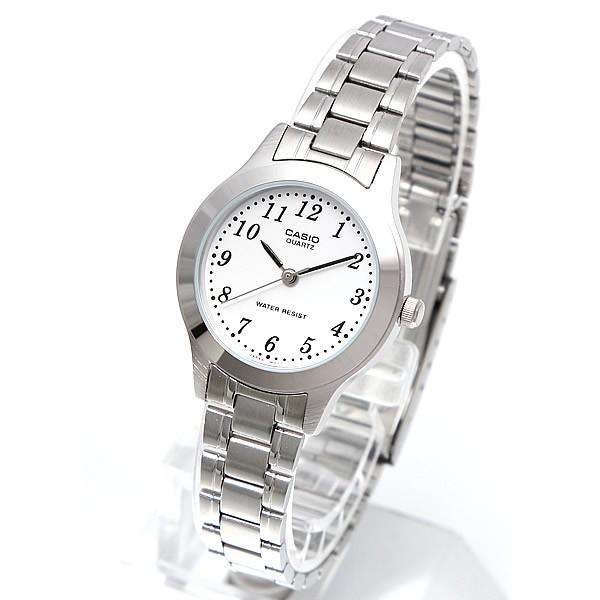 Casio Vintage LTP-1128A-7B Silver Stainless Watch for Women