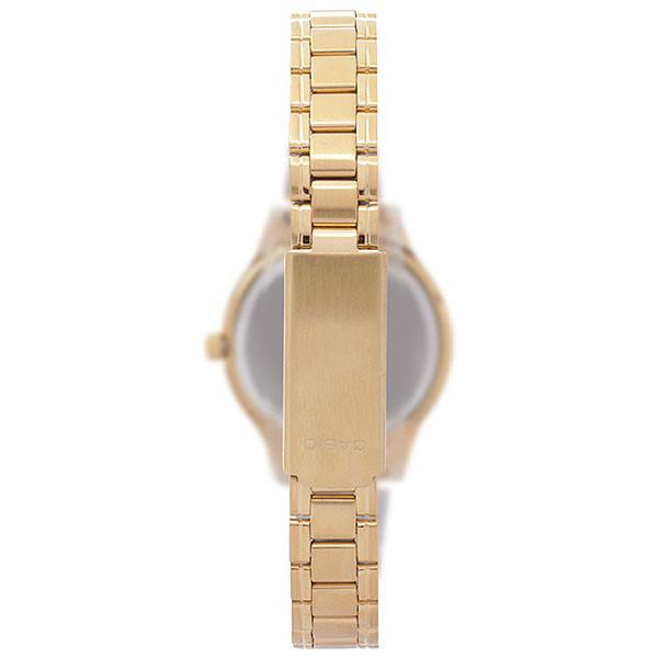 Casio Vintage Women's Gold Plated Stainless Steel Strap Watch-  LTP-1128N-9ARDF - Watchportal Philippines