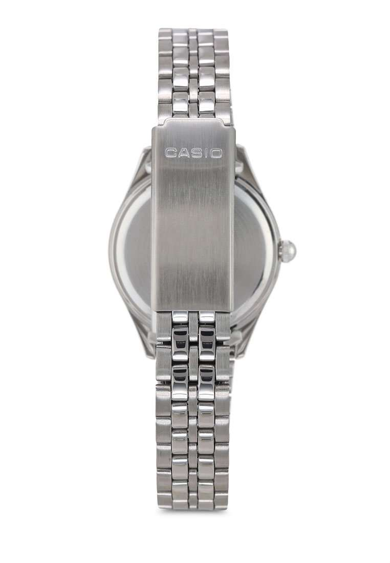Casio LTP-1129A-7ARDF Silver Stainless Steel Strap Watch for Women