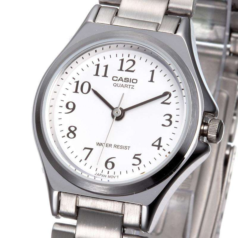 Casio LTP-1130A-7B Silver Stainless Watch for Women