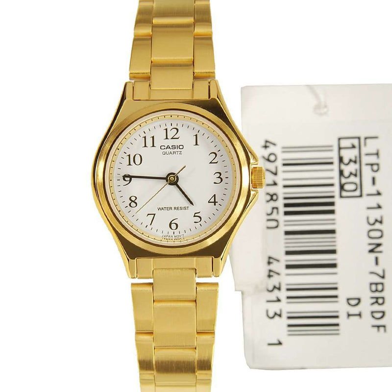 Casio LTP-1130N-7B Gold Plated Watch for Women