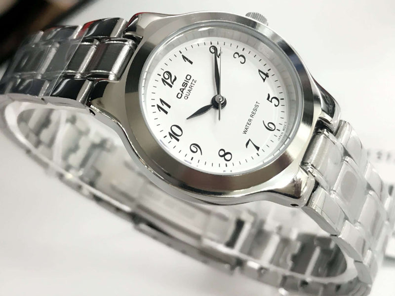 Casio Vintage LTP-1131A-7BRDF Silver Stainless Watch for Women