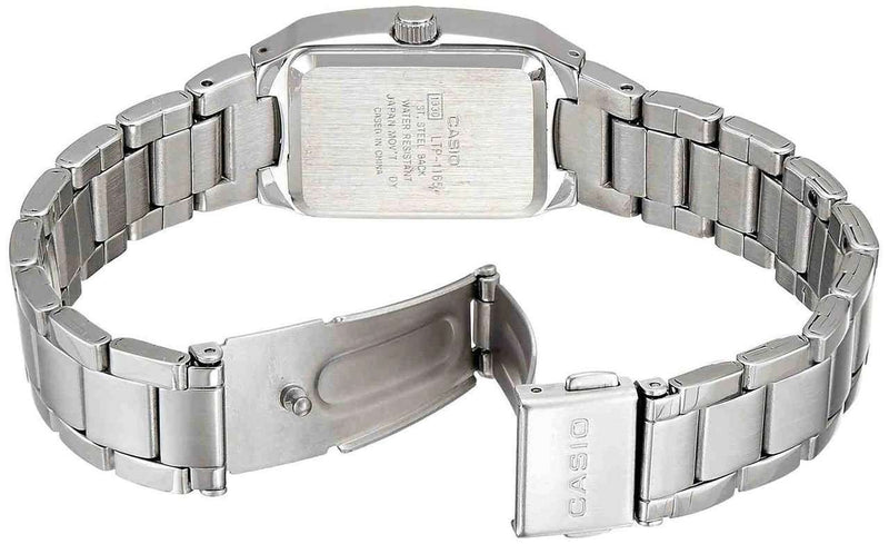 Casio Vintage LTP-1165A-4C Silver Stainless Watch for Women