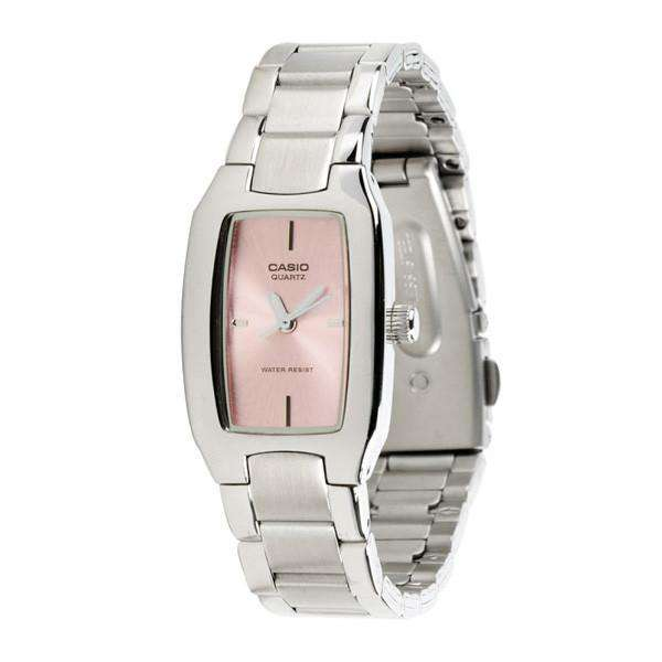 Casio Vintage Women's Silver Stainless Steel Strap Watch- LTP-1165A-4CDF - Watchportal Philippines