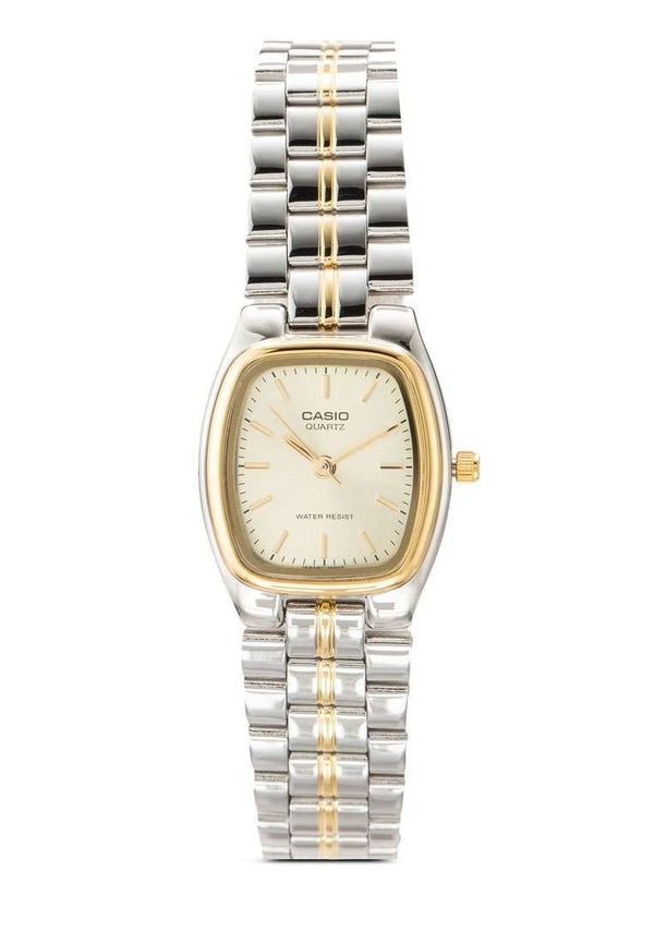 Casio Vintage LTP-1169G-9A Silver/Gold Watch for Women