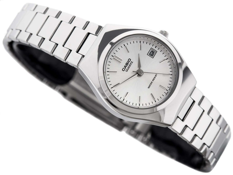 Casio LTP-1170A-7A Silver Stainless Steel Watch for Women