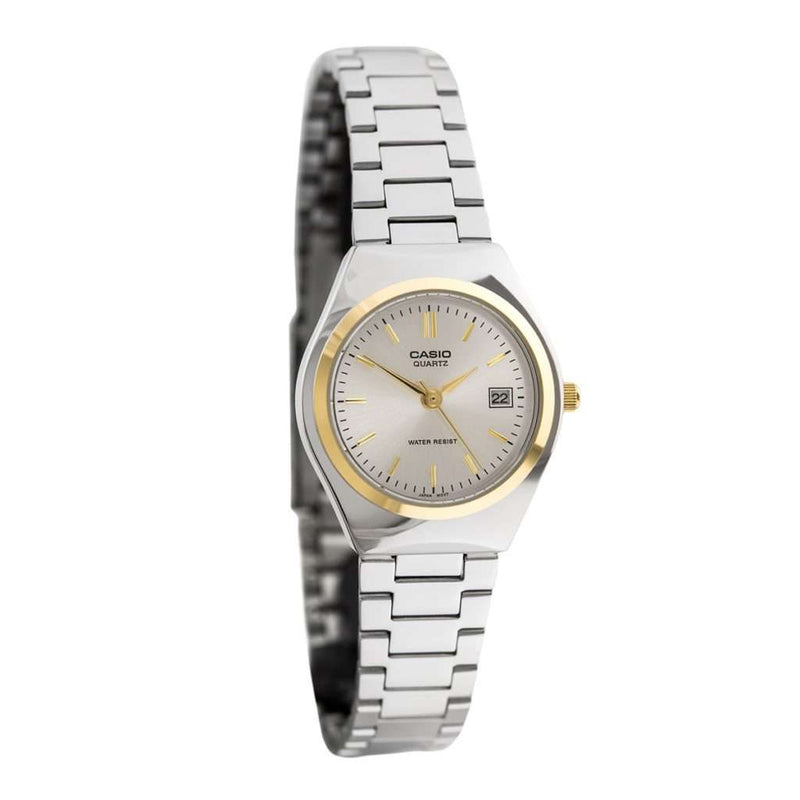 Casio LTP-1170G-7A Silver Stainless Steel Strap Watch for Women