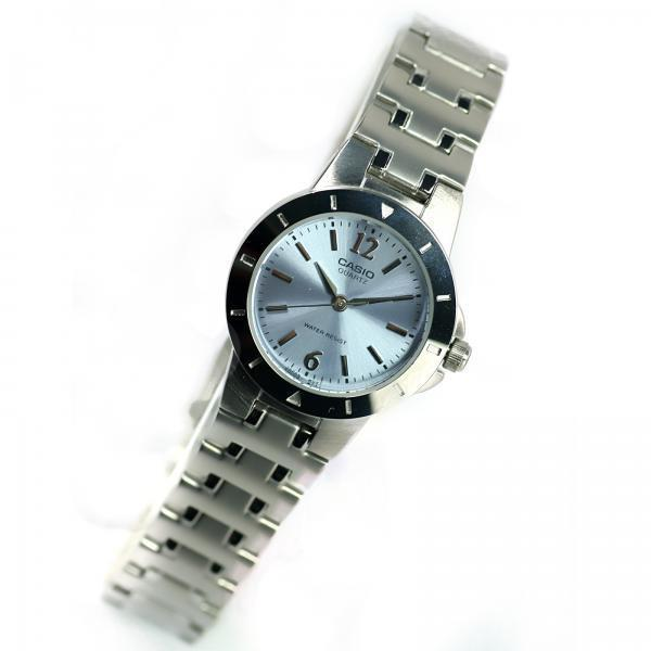 Casio Vintage Women's Silver Stainless Steel Strap Watch-LTP-1177A-2ADF - Watchportal Philippines