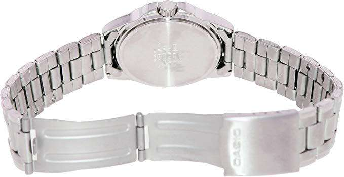 Casio LTP-1215A-1A2DF Silver Stainless Steel Strap Watch for Women