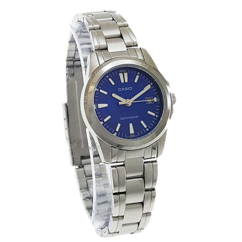 Casio Vintage LTP-1215A-2A2 Silver Watch for Women
