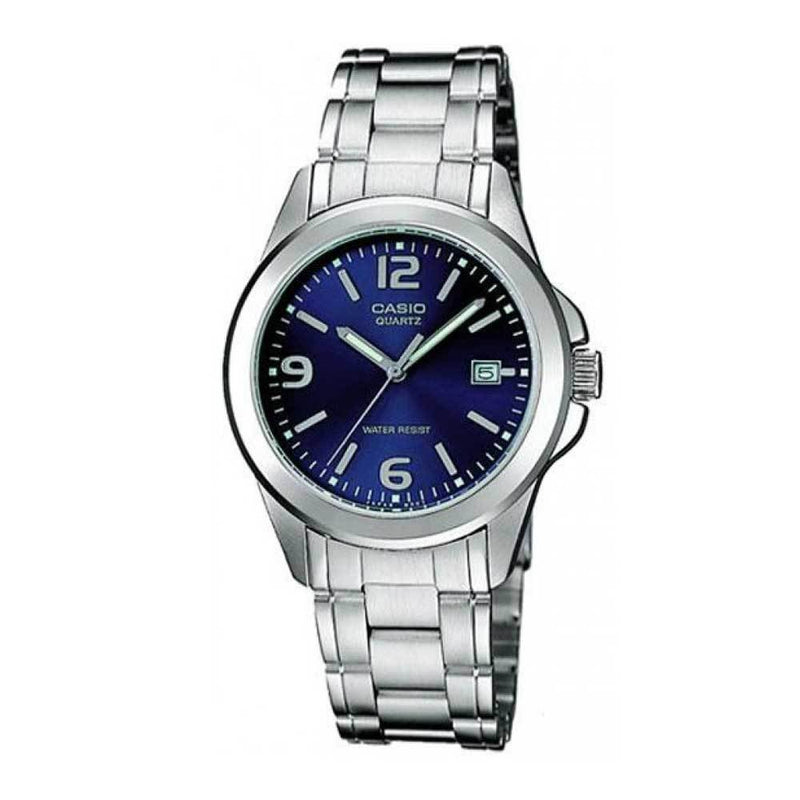 Casio LTP-1215A-2ADF Silver Stainless Steel Strap Watch for Women
