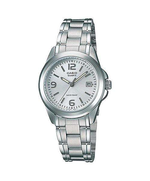 Casio Vintage LTP-1215A-7A Silver Watch for Women
