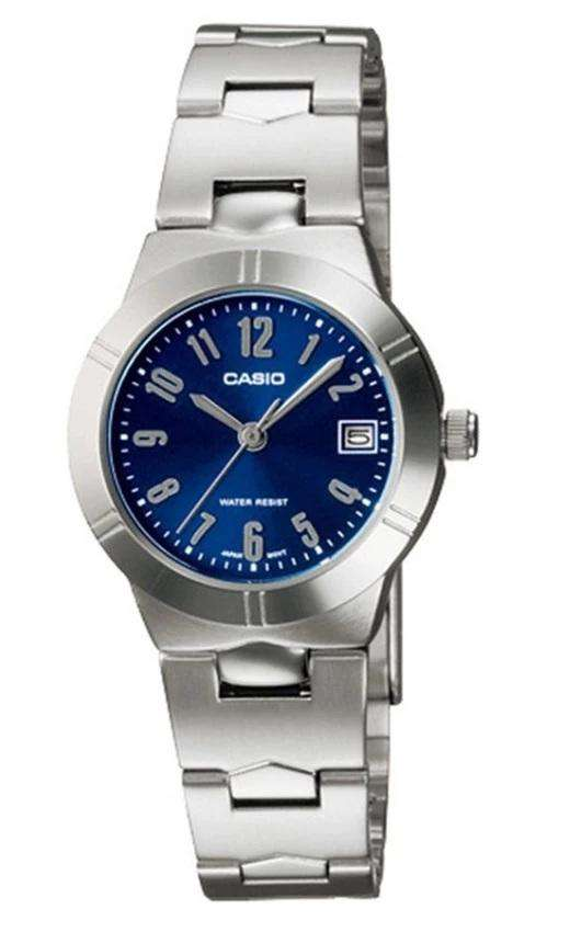 Casio LTP-1241D-2A2 Silver Stainless Watch for Women