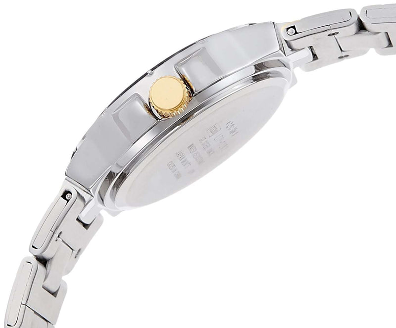 Casio LTP-1242SG-1C Silver Stainless Steel Strap Watch for Women