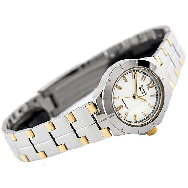 Casio LTP-1242SG-7A Silver Stainless Steel Strap Watch for Women