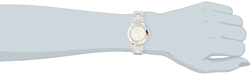 Casio LTP-1242SG-9C Two Tone Gold Dial Watch for Women - Watchportal Philippines