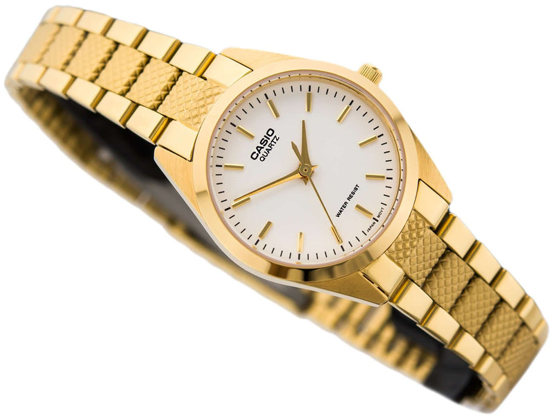 Casio LTP-1274G-7A Gold Plated Stainless Steel Watch for Women