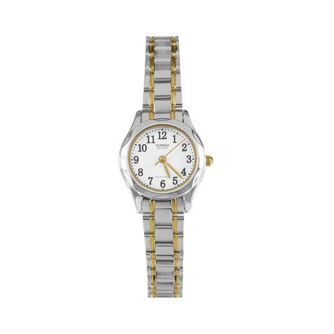 Casio LTP-1275SG-7BDF Two Tone Stainless Steel Strap Watch for Women