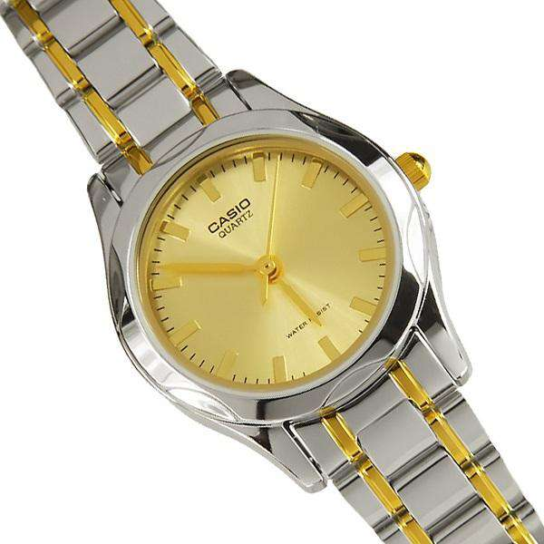 Casio LTP-1275SG-9ADF Two Tone Stainless Steel Watch for Women