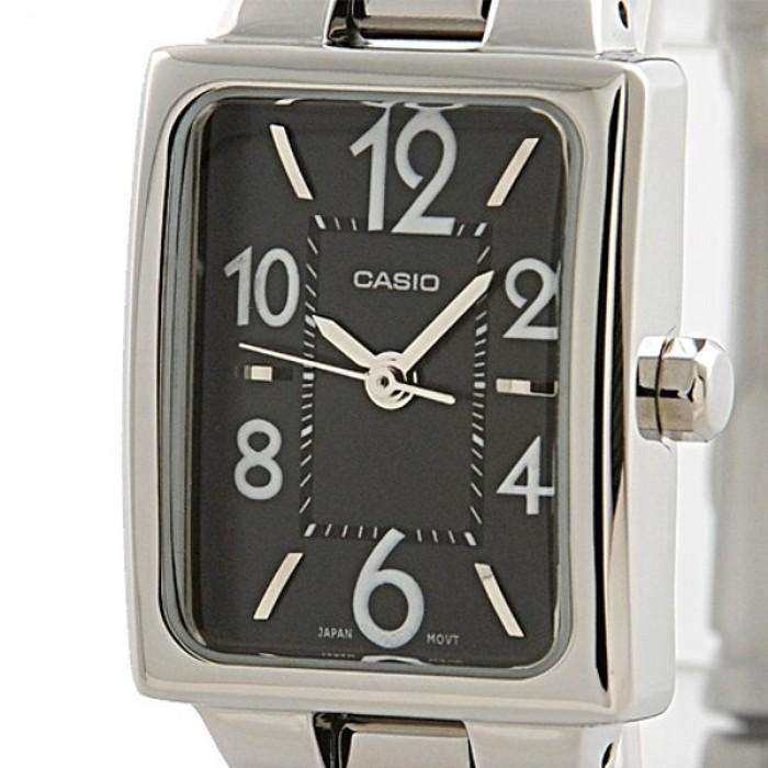 Casio LTP-1294D-1ADF Silver Stainless Steel Strap Watch for Women