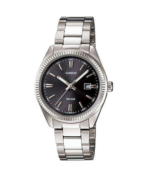 Casio Vintage LTP-1302D-1A1VDF Silver Watch for Men & Women