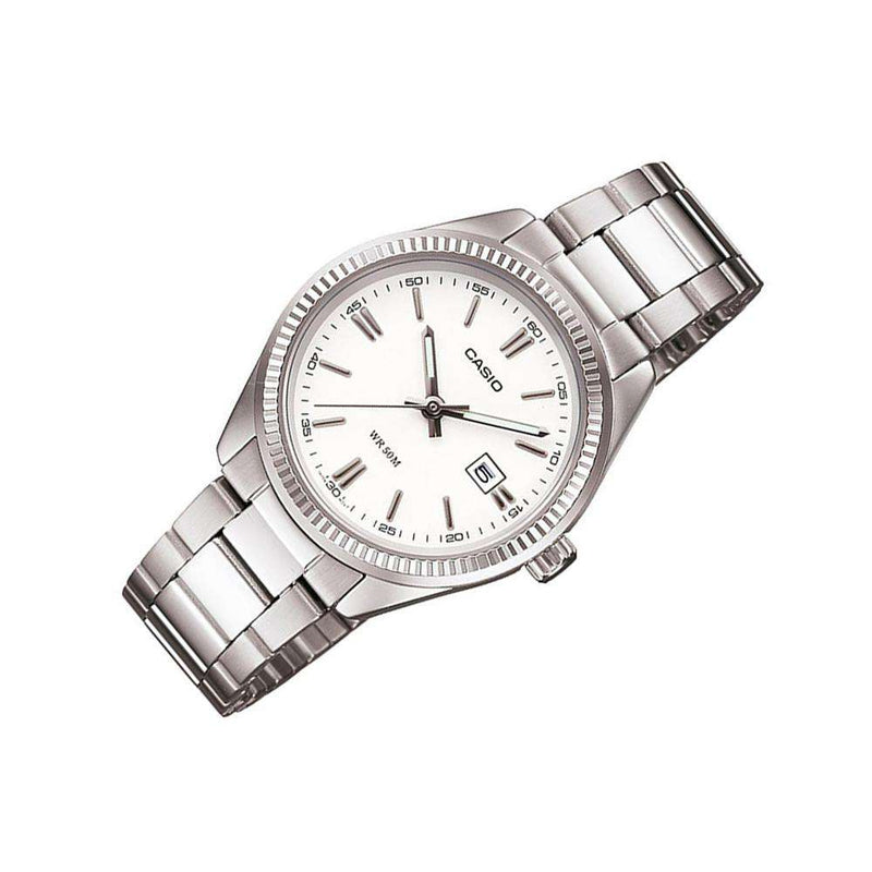 Casio Vintage LTP-1302D-7A1VDF Silver Watch for Women