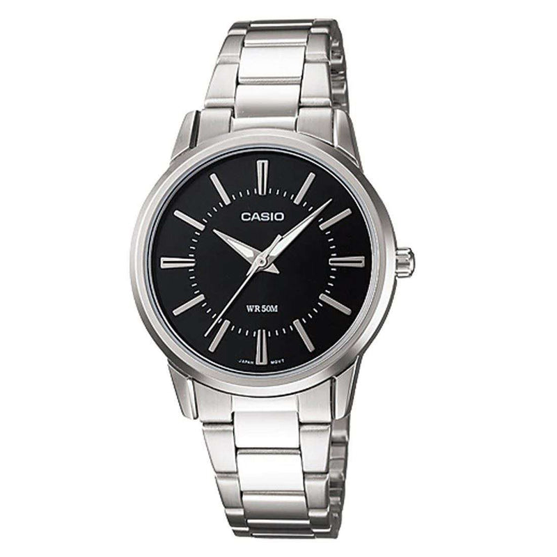Casio LTP-1303D-1AVDF Silver Stainless Steel Strap Watch for Women